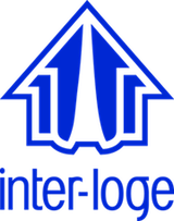 Interloge Logo Signature Bleu